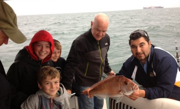 Luxury Boating and Snapper Fishing