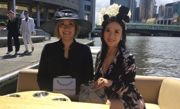 Getting to Flemington Spring Races by Boat
