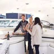 Dining on Yacht Melbourne