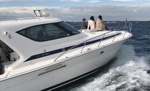 Voodoo 4000 Offshore Sports Cruiser 1-16 Passengers