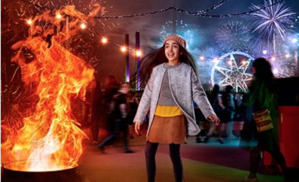 Docklands Firelight Festival in 2017