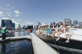 hens party boat cruise melbourne